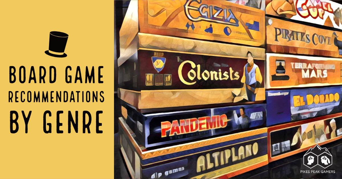 Board Game Recommendations By Genre