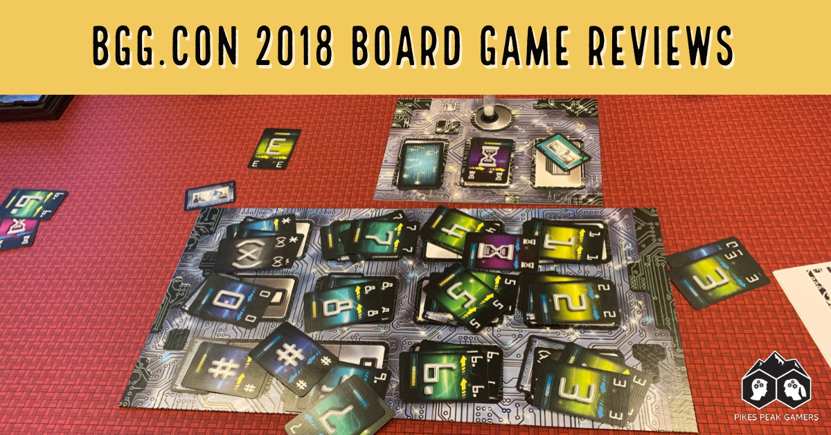 BGG.CON 2018 Board Game Reviews