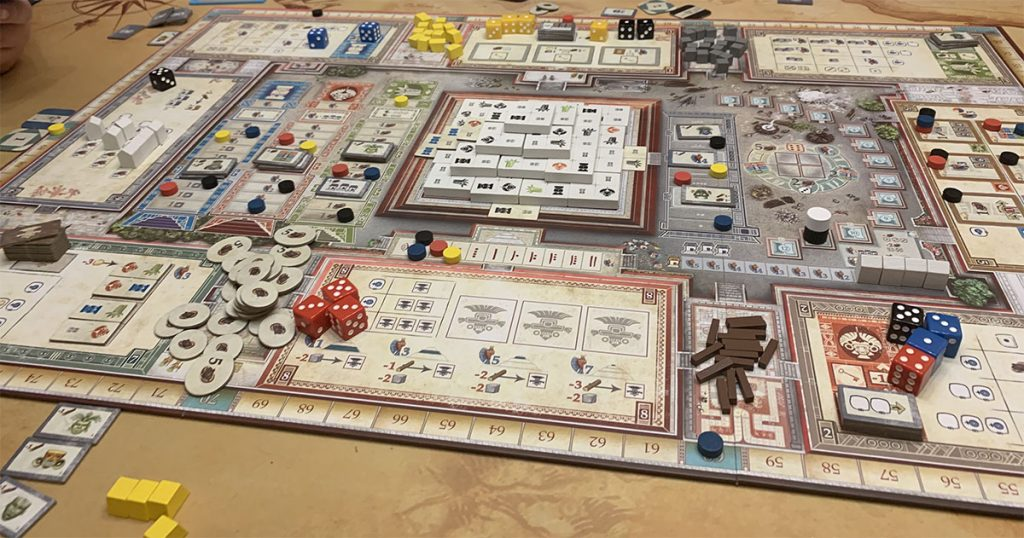 Board Game Review: Teotihuacan City of Gods