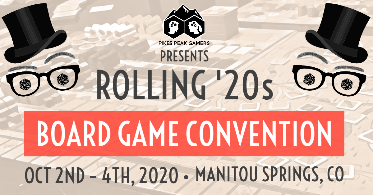 IMPORTANT: Pikes Peak Gamers Convention 2020 Update (COVID-19)